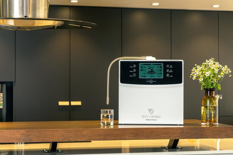 máy lọc nước điện giải ion kiềm Hàn Quốc